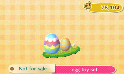 Egg Toy Set