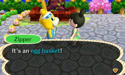 Exchanging for an Egg Basket 2