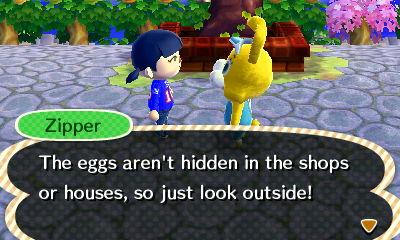 Zipper's Egg Hints 1