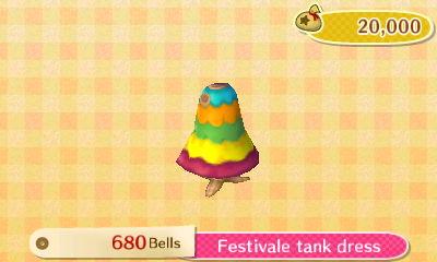 Festivale Tank Dress