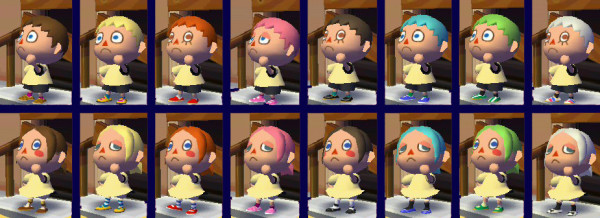 Miraculous Girl Hairstyles Animal Crossing City Folk Hairstyles For Women Draintrainus